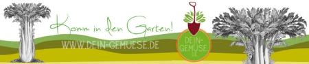 Komm in den Garten Banner